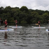High 5 Camp Paddle Boarding