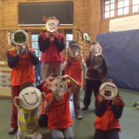 arts and crafts for 5-y year olds at holiday camps