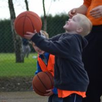 5-7 year olds learning new skills