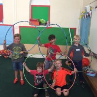 Olympic Rings at holiday sports camps