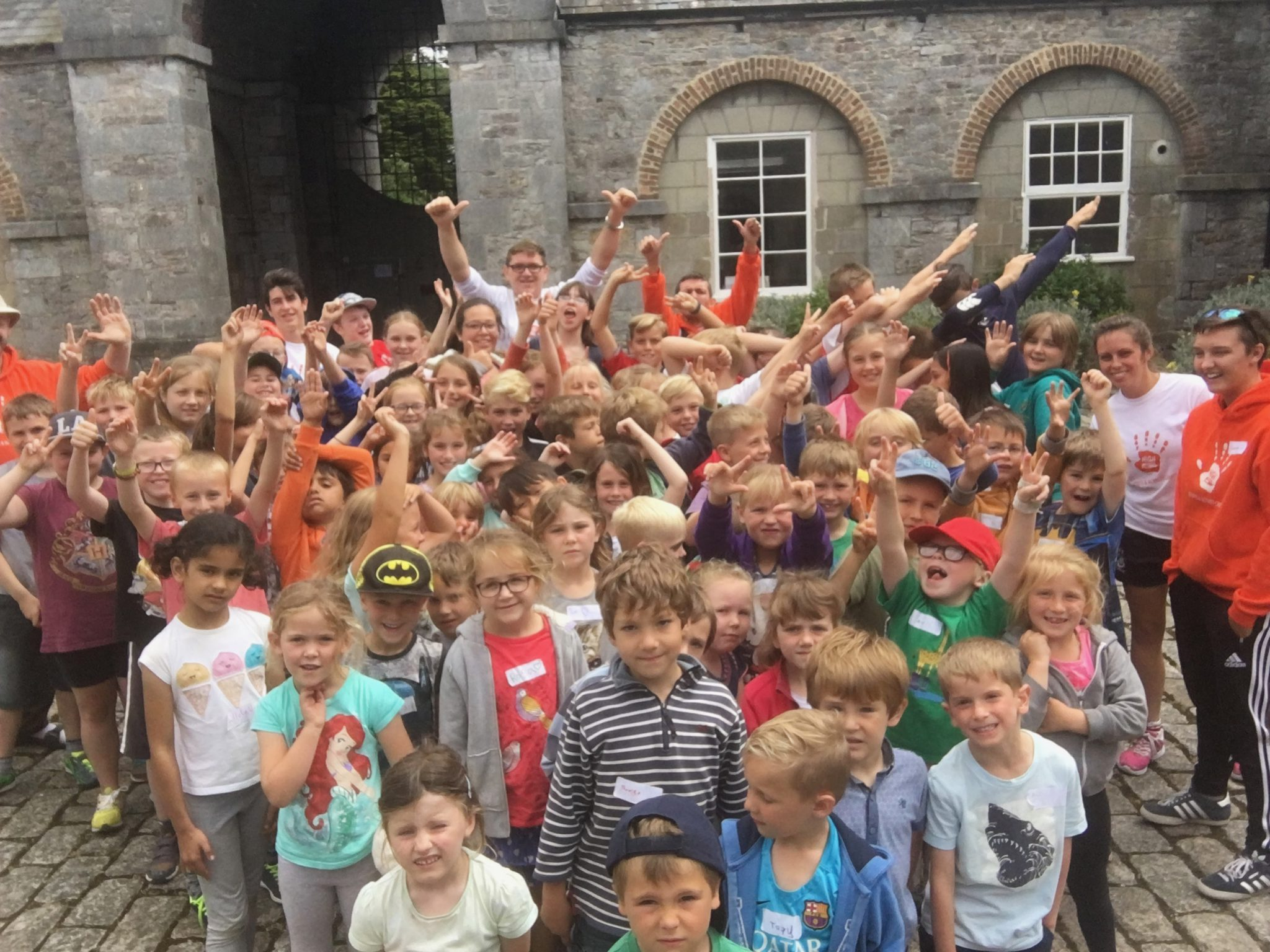 5-7 year olds are happy at popular sports and activity camps
