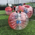 Bubble Football at High 5 Sports Camps